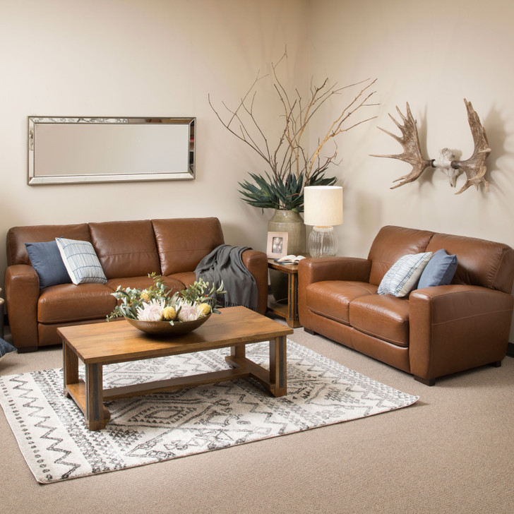 Evelyn Sofa - Leather Lounge