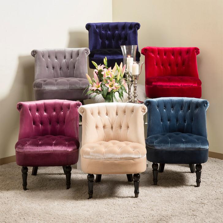 Jennifer - Velvet Accent Chairs