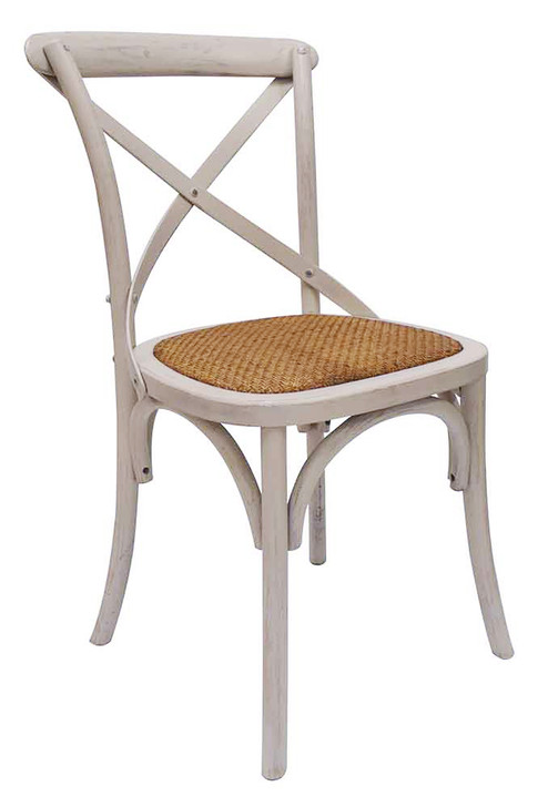 Mentha Cross-Back Timber Dining Chair