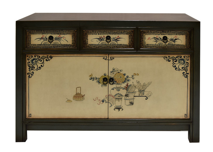 18GZ-06 - Handcrafted Chinese Cabinet/Antique