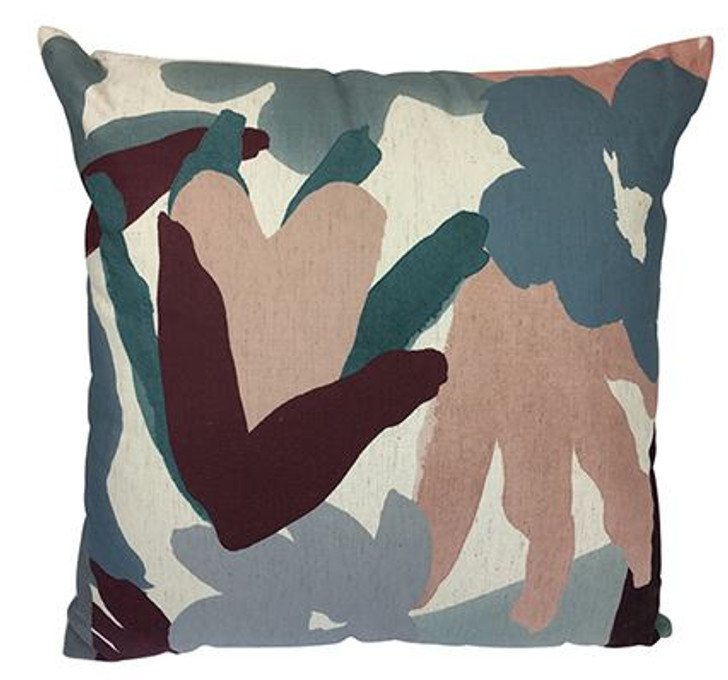 Abstract Floral - Cushion