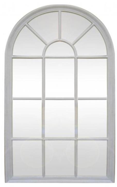 Bernadette Antique White Mirror