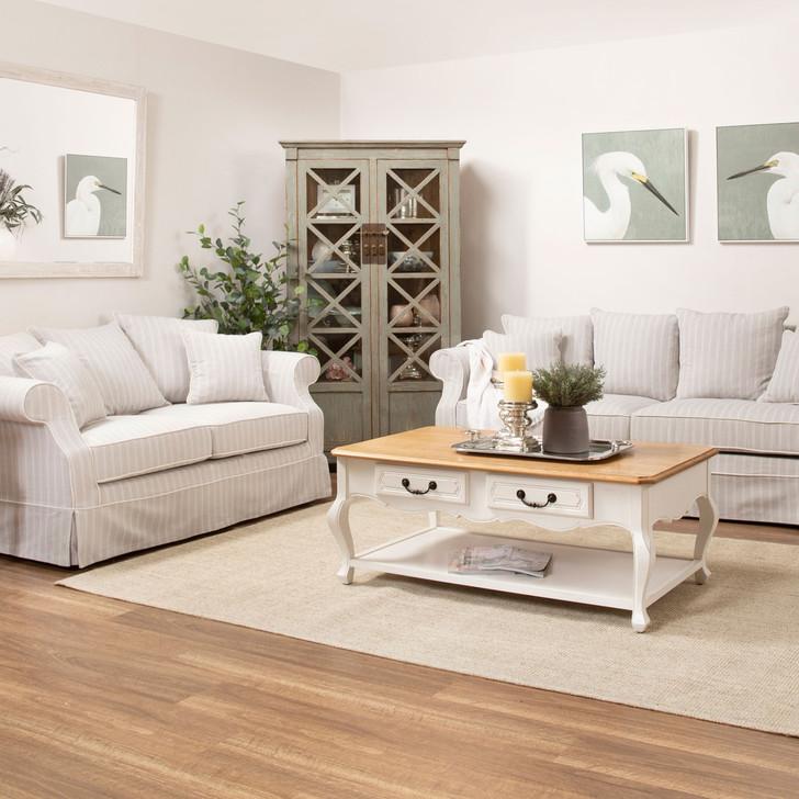 Gloria 3+2 Fabric Lounge Suite
