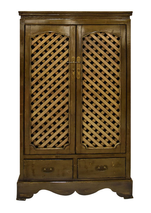BF-60716G - Handcrafted Chinese Cabinet/Antique