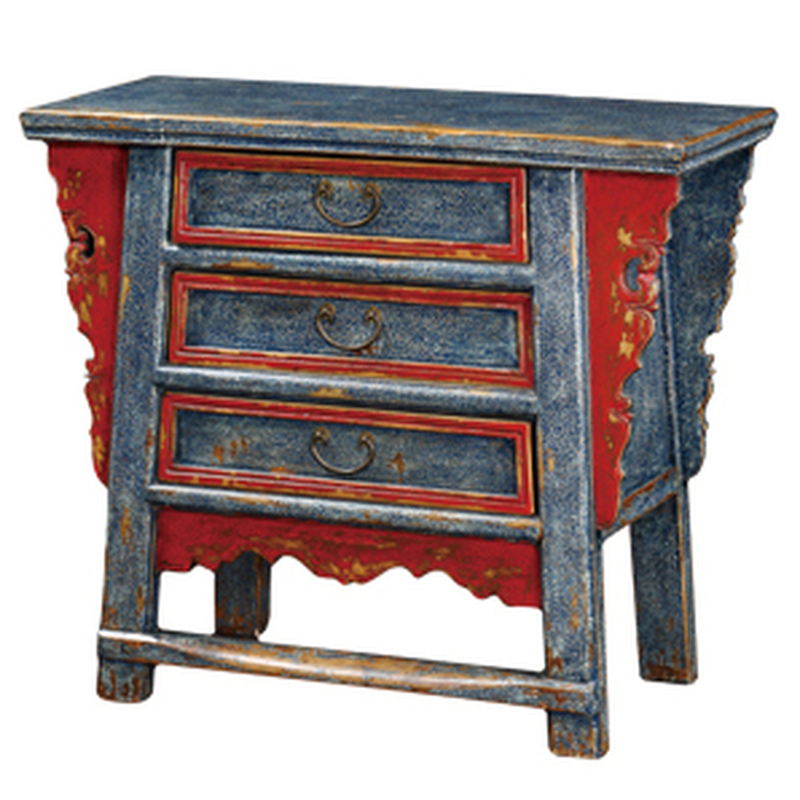 BF-60565 - 3 Drawer Table
