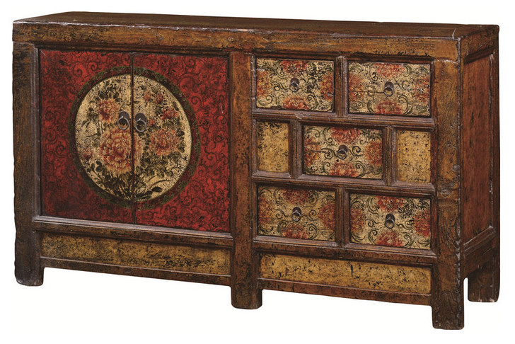 BF-60519 - Handcrafted Chinese Cabinet/Antique