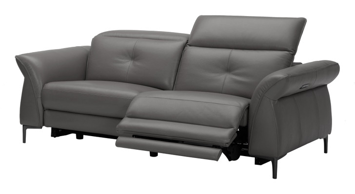 Corben 3 Seater Dark Grey Recliner Lounge