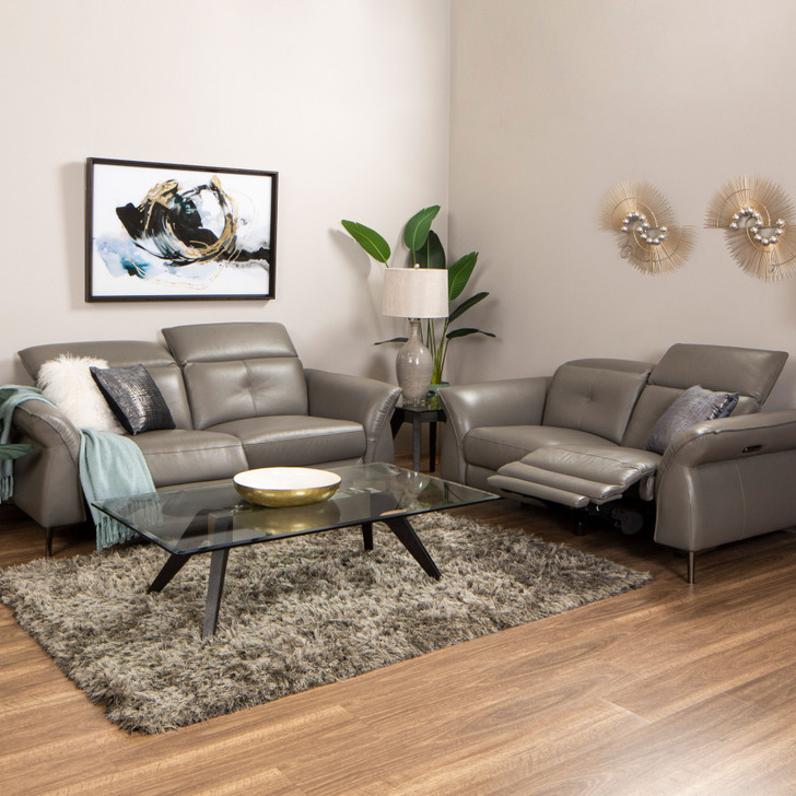 Corben 3+2 Full Leather Electronic Recliner Suite
