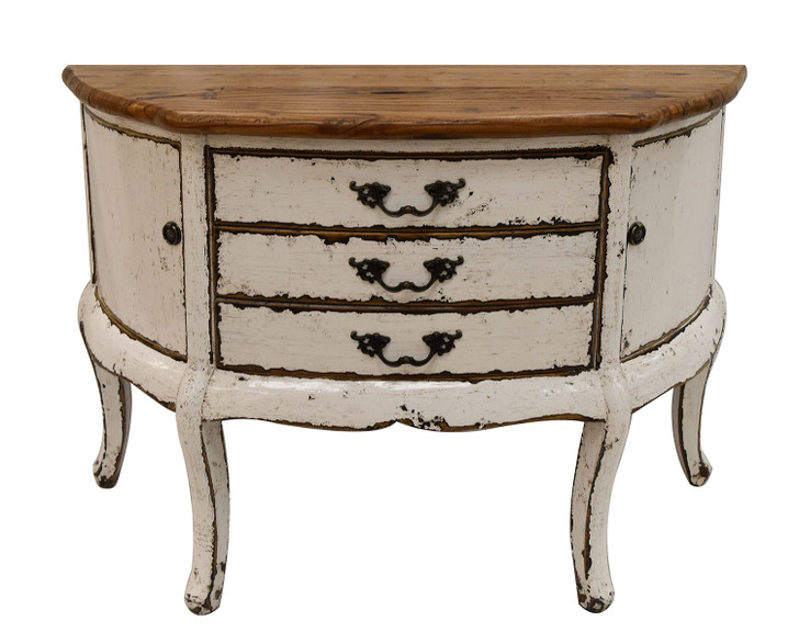 G860W 2 Door 3 Drawer Console Table