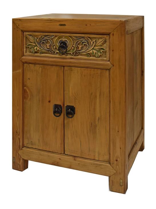 L003 1 Drawer 2 Door Cabinet Natural