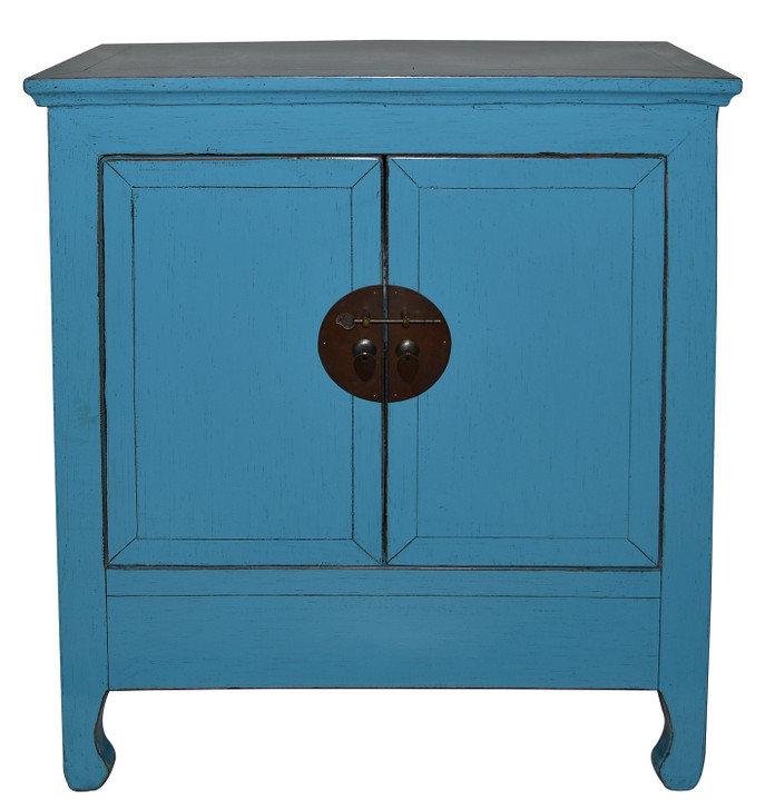 G1065 2 Door Cabinet in High Gloss Blue