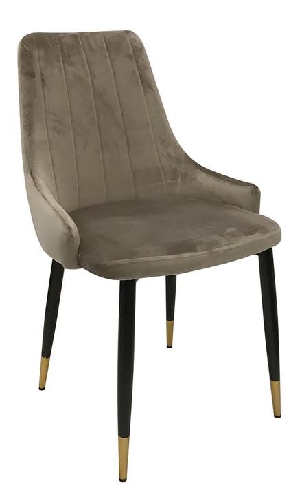 Aaron Fawn Velvet Dining Chair