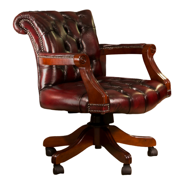 Winston Full Leather Office Chair