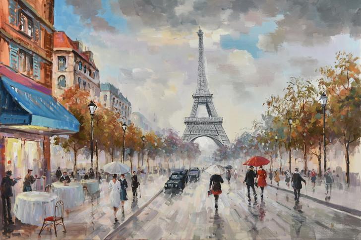 A Day in Paris - Canvas Artwork