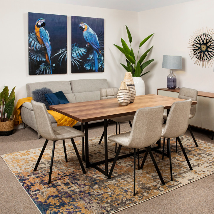 Martin Dining Table with Victor Chairs