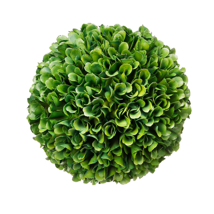 Faux topiary ball large