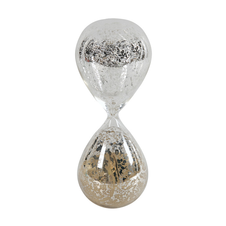 Hourglass with tan coloured sand (approximately 30 minutes)