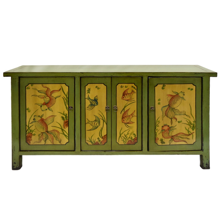 BF-60583 - Handcrafted Chinese Cabinet