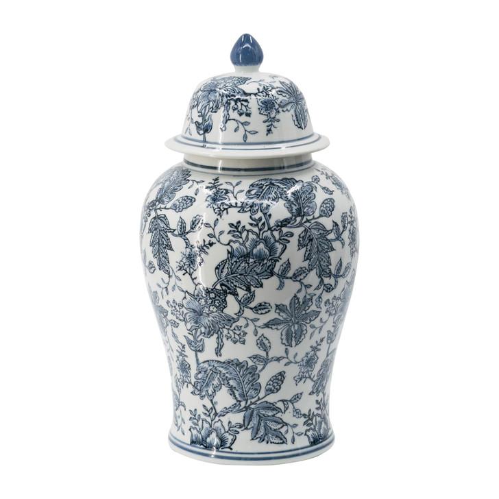 Porcelain Chinoise Ginger Jar