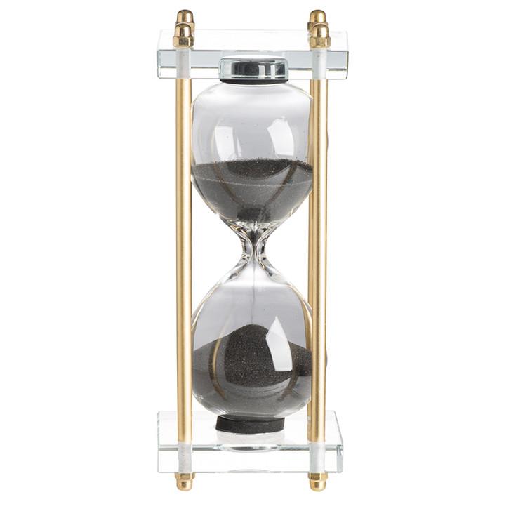 Black Industrial Hourglass