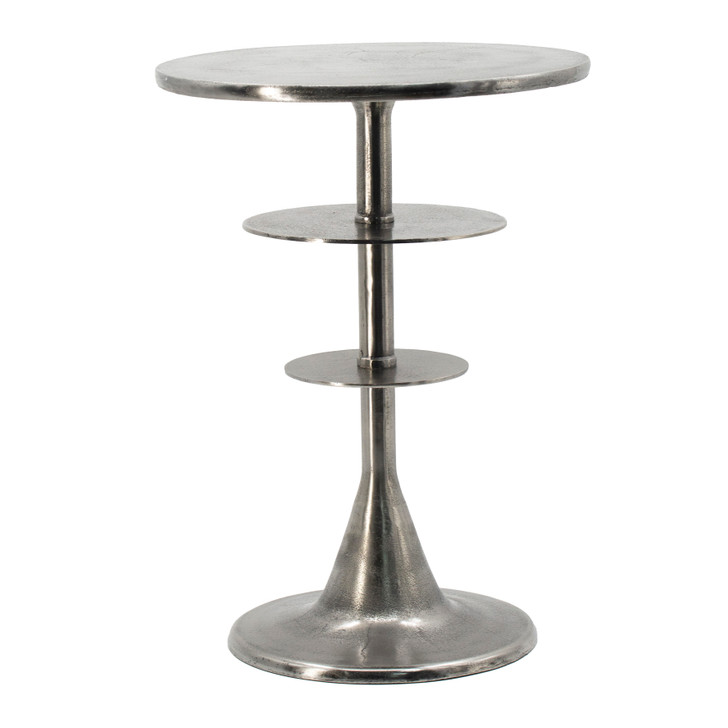 Tiered Silver Table
