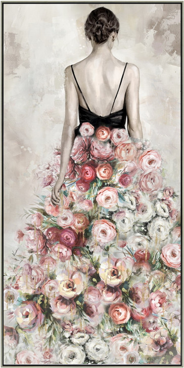 Alice Framed Canvas