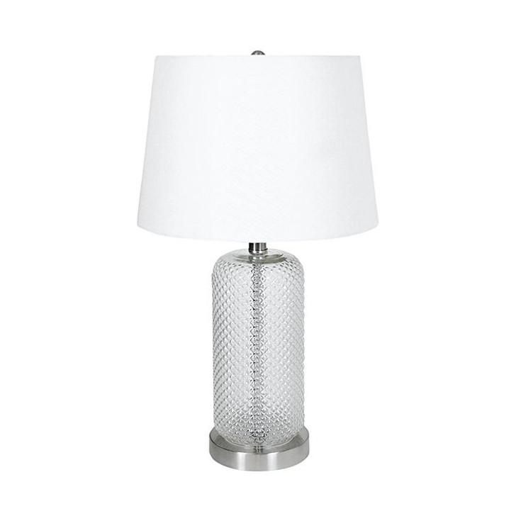 Bloomingdale Cut Glass Lamp