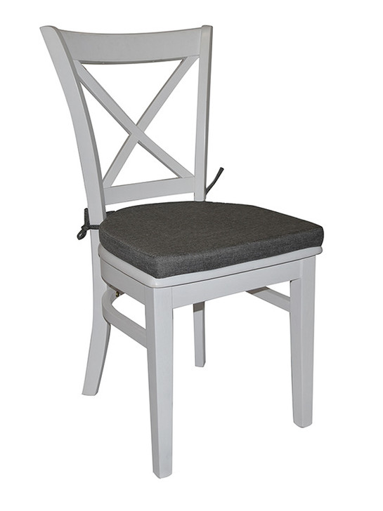 Hampton Dining Chair with Tie-On Seat Cushion