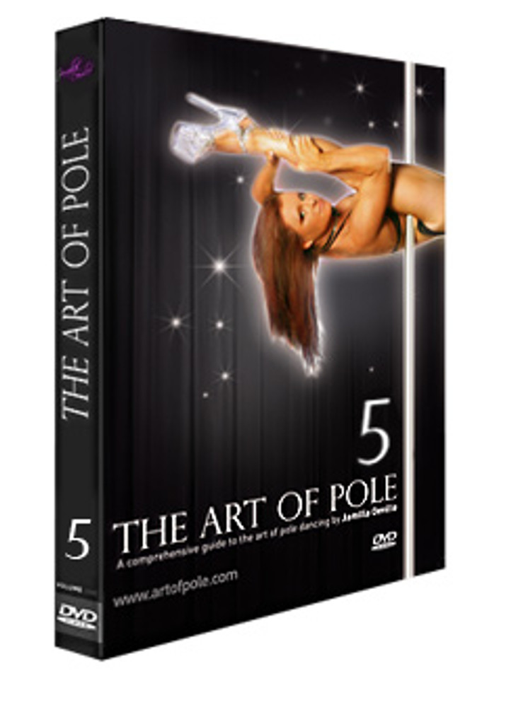 'Instructional - ART of POLE Volume 5 by Jamilla - DVD