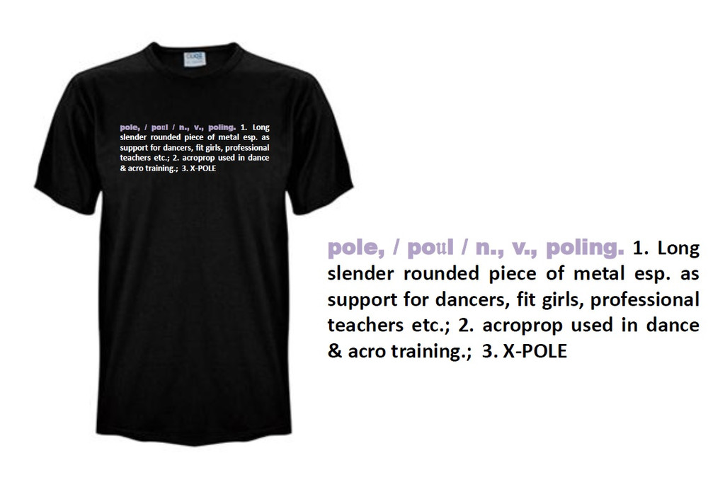Men's Pole T-Shirt for your Super-supportive boyfie