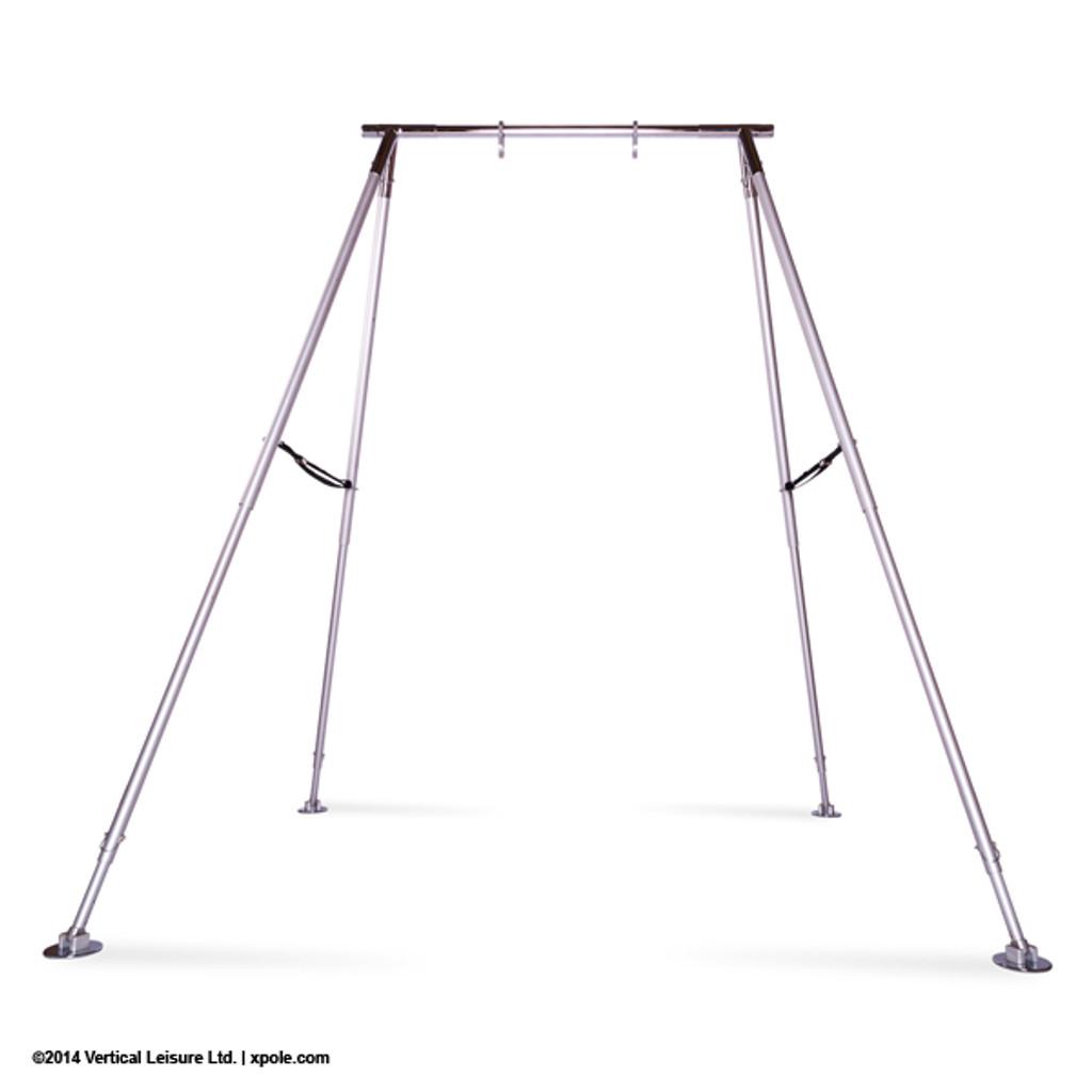 Aerial: X-POLE Portable A-Frame for Lyra, Silks & Aerial Yoga