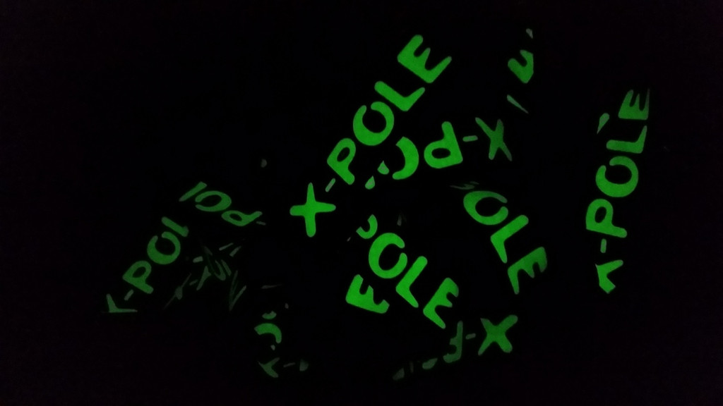 X-POLE Official Team Lanyards (Glow in the dark)