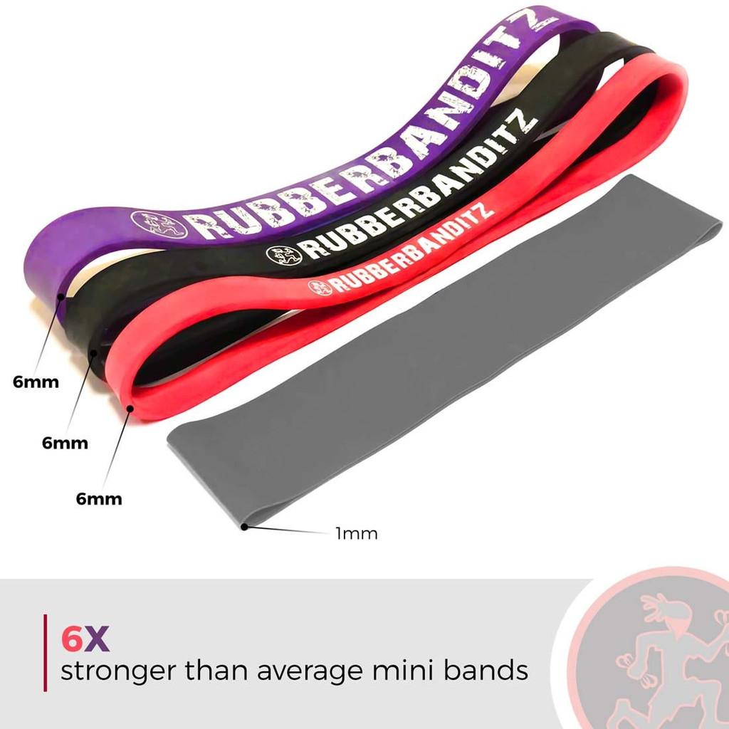 "Strength: Booty Band LVL2 12"" - Medium"