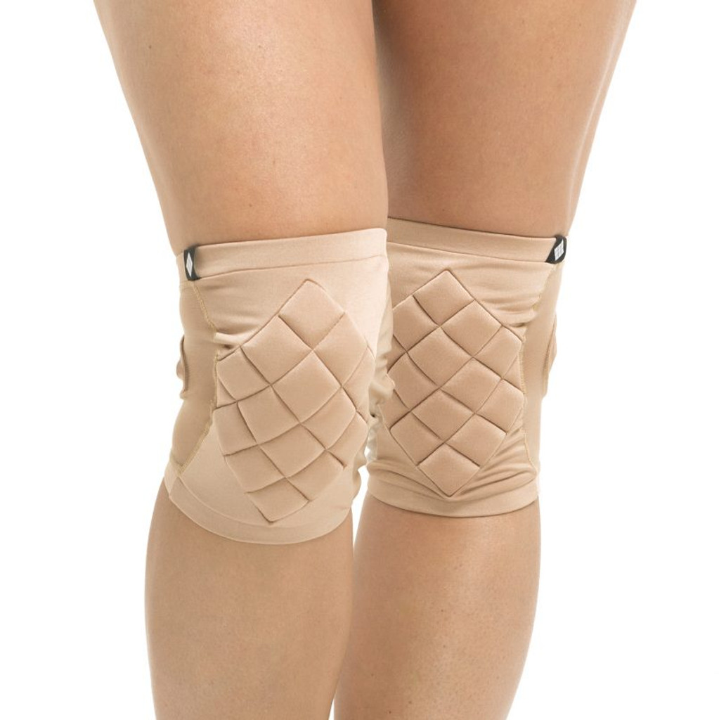 Poledancerka Knee Pads With Pocket - Invisible 01