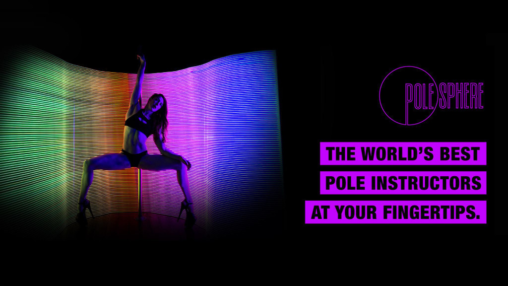 Pole Lessons ONLINE All Levels