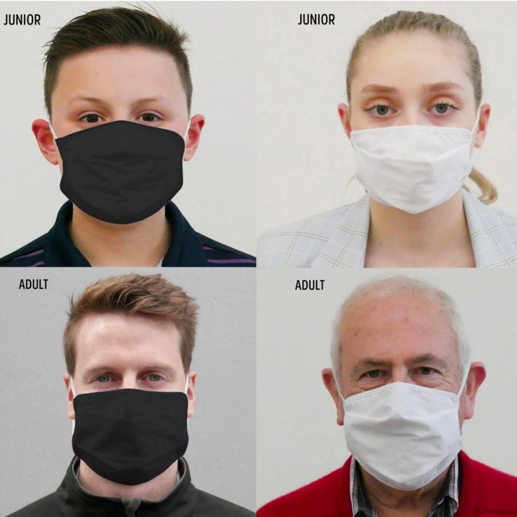 Reusable Barrier Masks