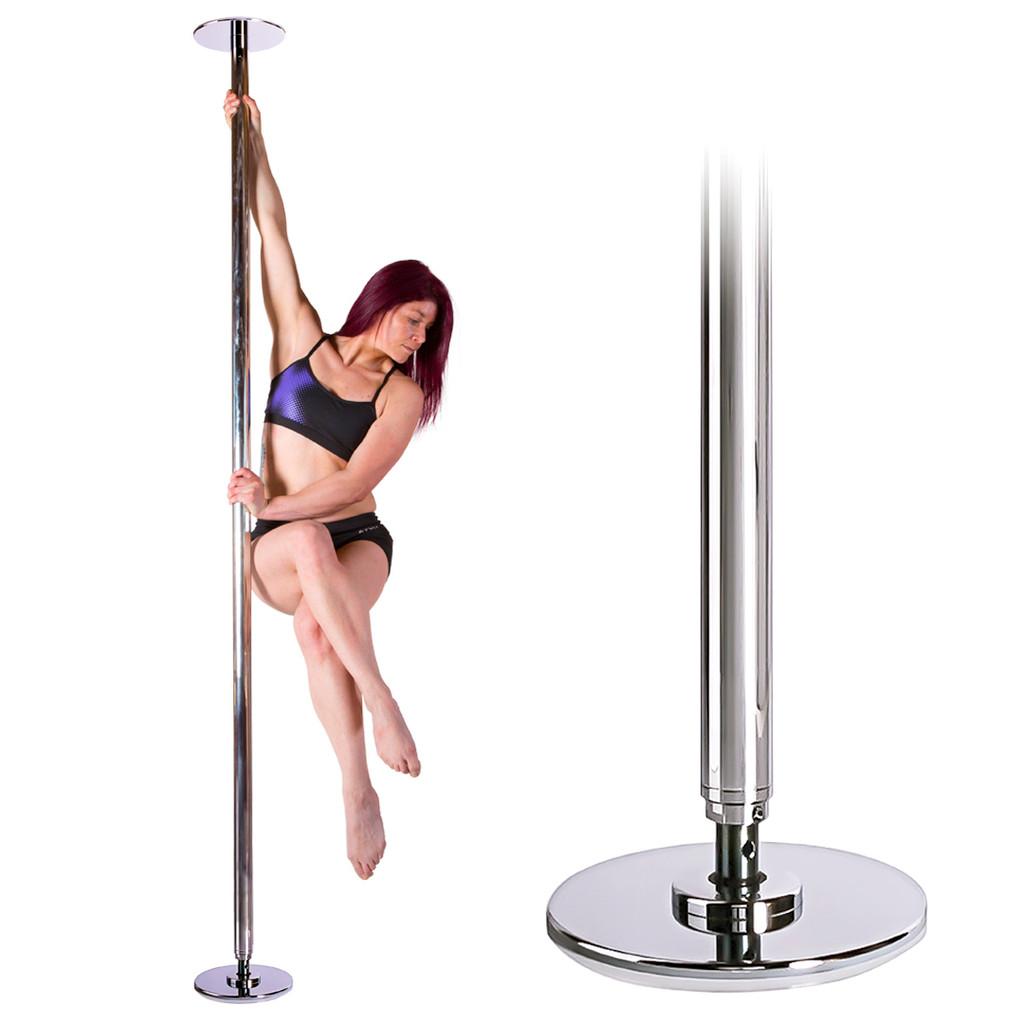 Dancing Pole Set:  X-POLE X-SPORT Removable Static pole