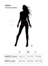Poledancerka Sensual Shorts - Black