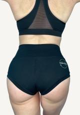 SMOOVE Pole/Period Shorts - Onyx Black