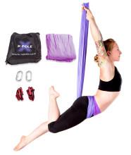 X-POLE Aerial Yoga Hammock Set - Purple