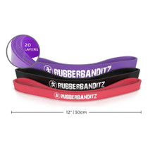 "Rubberbanditz Pole Booty Band 12"" - Robust"