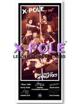 Limited Edition X-POLE Posters: Set of 5