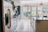 handmade kitchen and larder cupboards