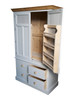 spice rack storage and inner shelves 4 deep storage drawers