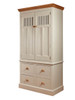 Stiffkey Larder cupboard with vented doors and 4 deep drawers