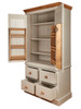Stiffkey larder cupboard with door spice racks and inner shelves