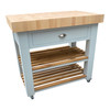 Stunning solid wood and super thick beech end grain butchers block
