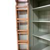 3 adjustable shelves in the top cupboard