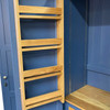 Spice racks included with our kitchen larder cupboards
