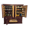 our Burghley kitchen larder and our Holkham kitchen larder both have 2 pull out sliding shelf trays as standard